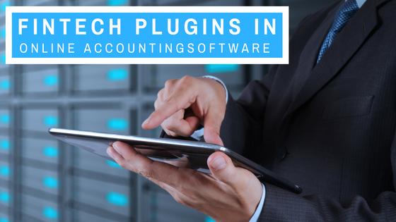 Fintech plugins in online accounting software